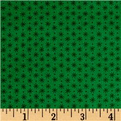 Asterisk Winter Green/Green