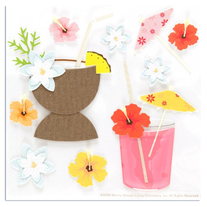 Martha Stewart Crafts Drink Stickers