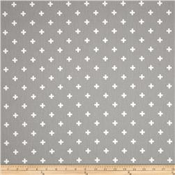 Premier Prints Twill Mini Swiss Cross Storm
