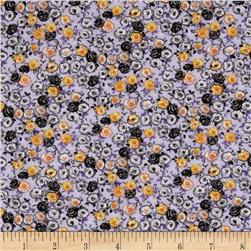Spring Fling Packed Floral Purple/Orange