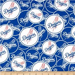 Los Angeles Dodgers Cotton Broadcloth Blue