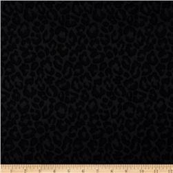 Animal Print Jacquard Black