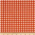 Riley Blake Medium Gingham Orange