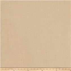"Fabricut Lisa 127"" Sheer Linen Blend Tan"