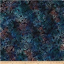 Kaufman Natural Formation Batiks Flower Burst Water