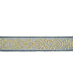 "Fabricut 2"" Ornament Trim Stream"