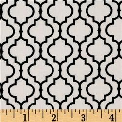 Metro Living Tile White Fabric