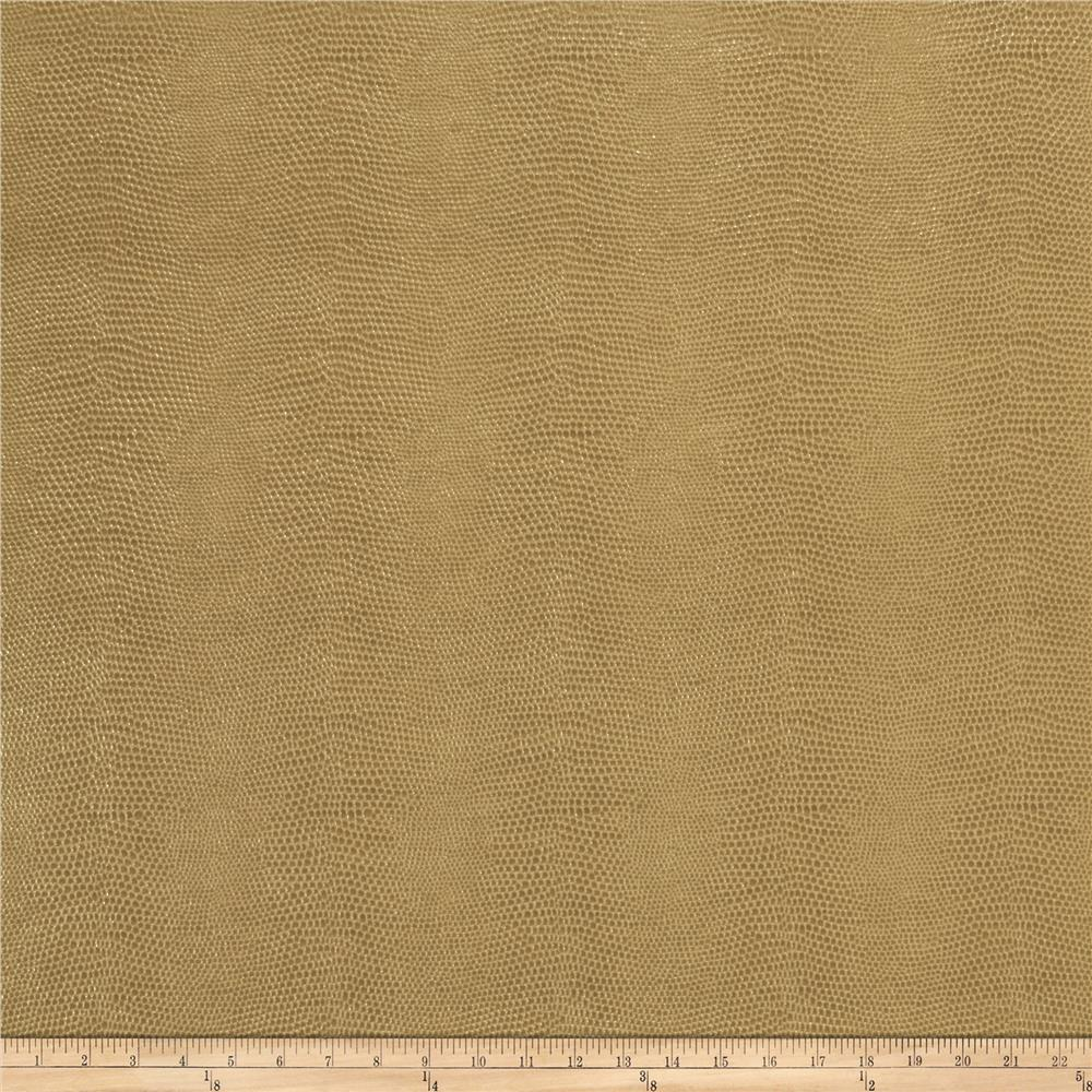 Fabricut Schreiber Faux Leather Almond