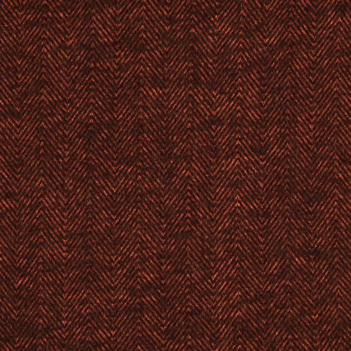 Kaufman Shetland Flannel Herringbone Russet Fabric By The Yard