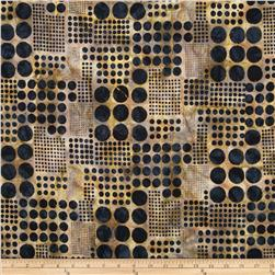 Artisan Batiks Concerto Circle Plaid Bronze