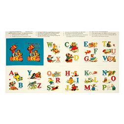 Alphabet Story Soft Book 24 In. Panel