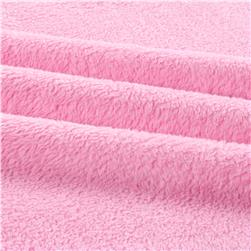 Double-Sided Minky Fleece Hot Pink