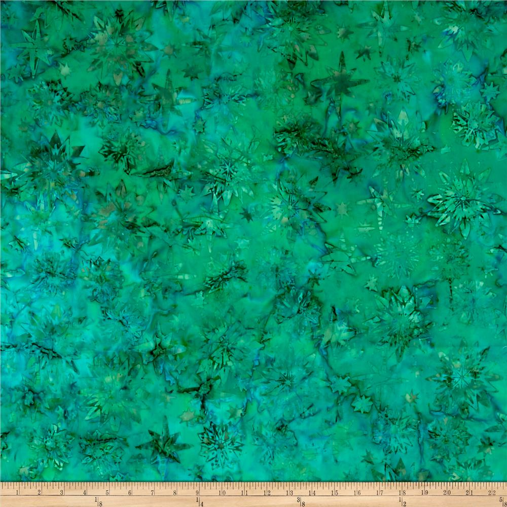 Timeless Treasures Tonga Batik Peacock Watermark Mermaid