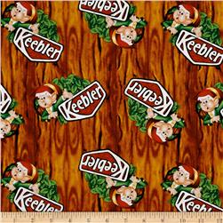 Kelloggs Keebler Elf in Tree Brown