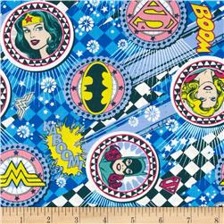 Girl Power 2 Badges Blue