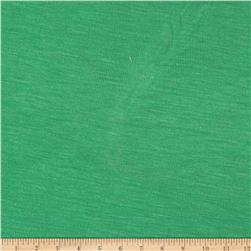 Lightweight Stretch Jersey Knit Kelly Green