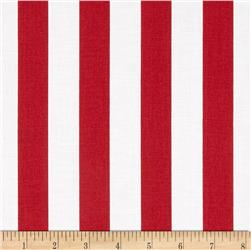Riley Blake 1'' Stripe Red