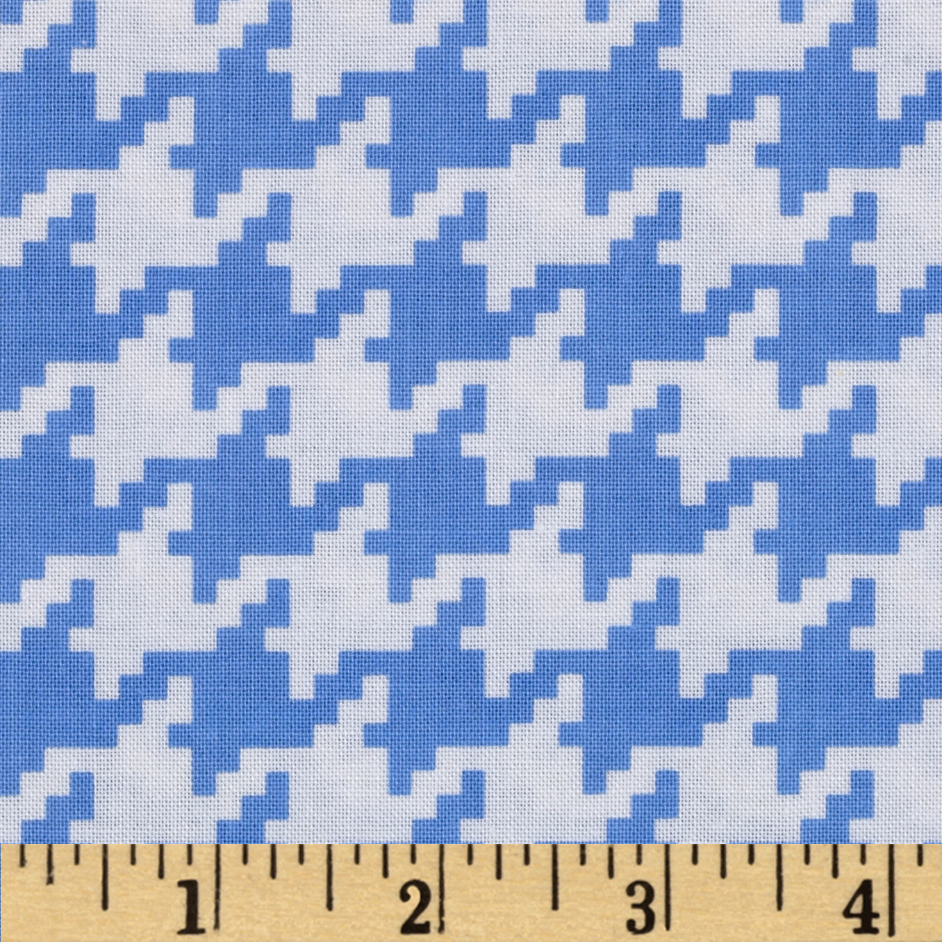 Michael Miller Everyday Houndstooth Boy Fabric