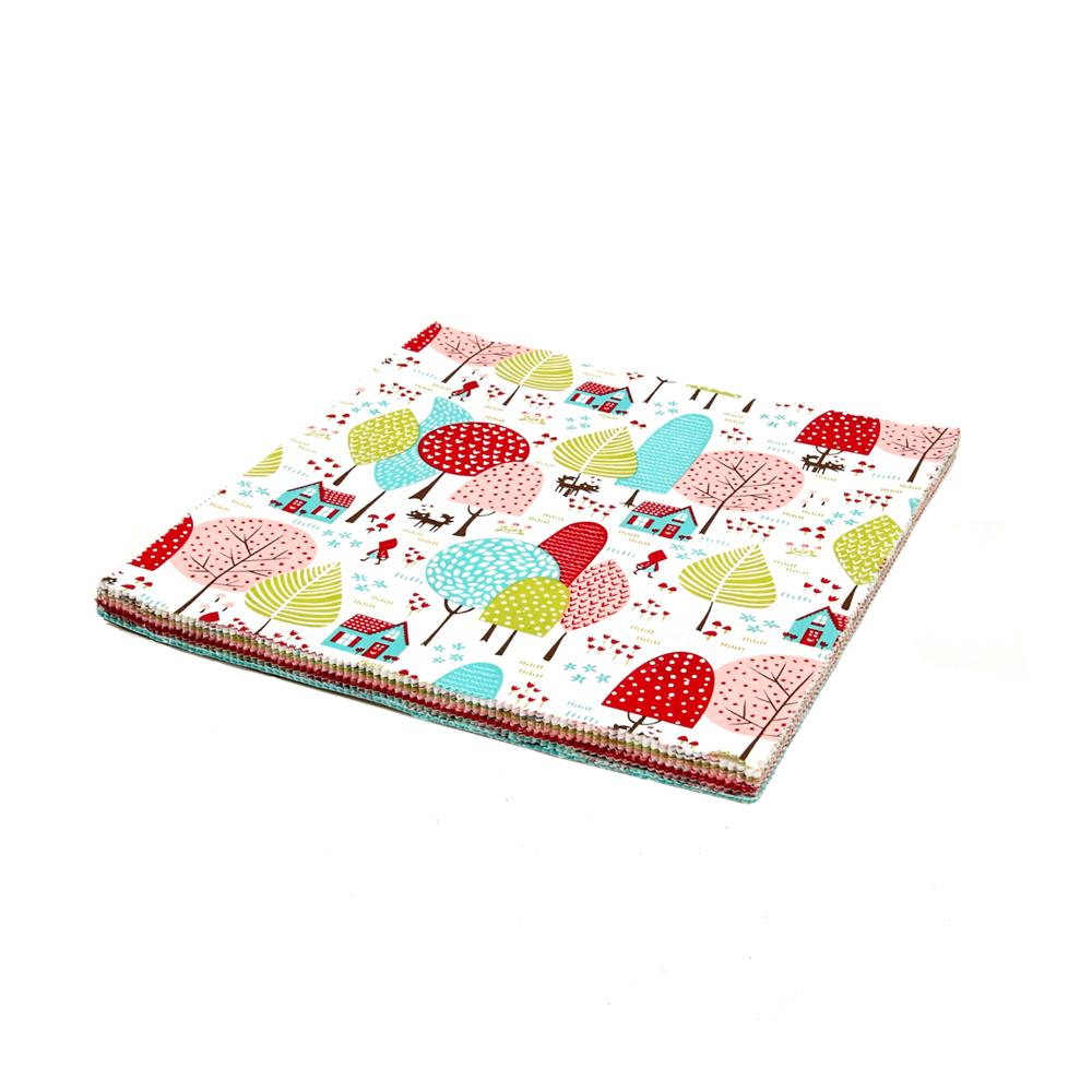 "Moda Lil' Red 10"" Layer Cake"