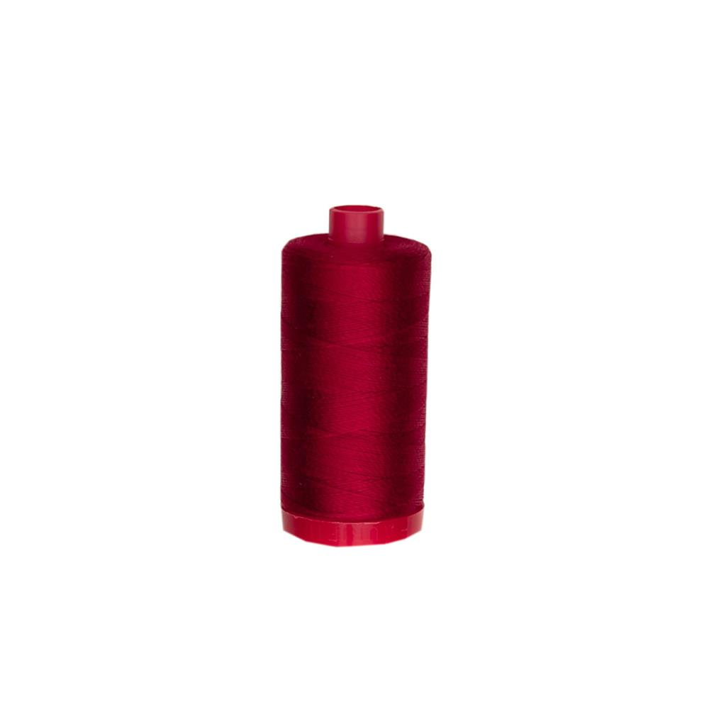 Aurifil 12wt Embellishment and Sashiko Dreams Thread Red Wine