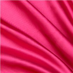 Slipper Satin Hot Pink Fabric