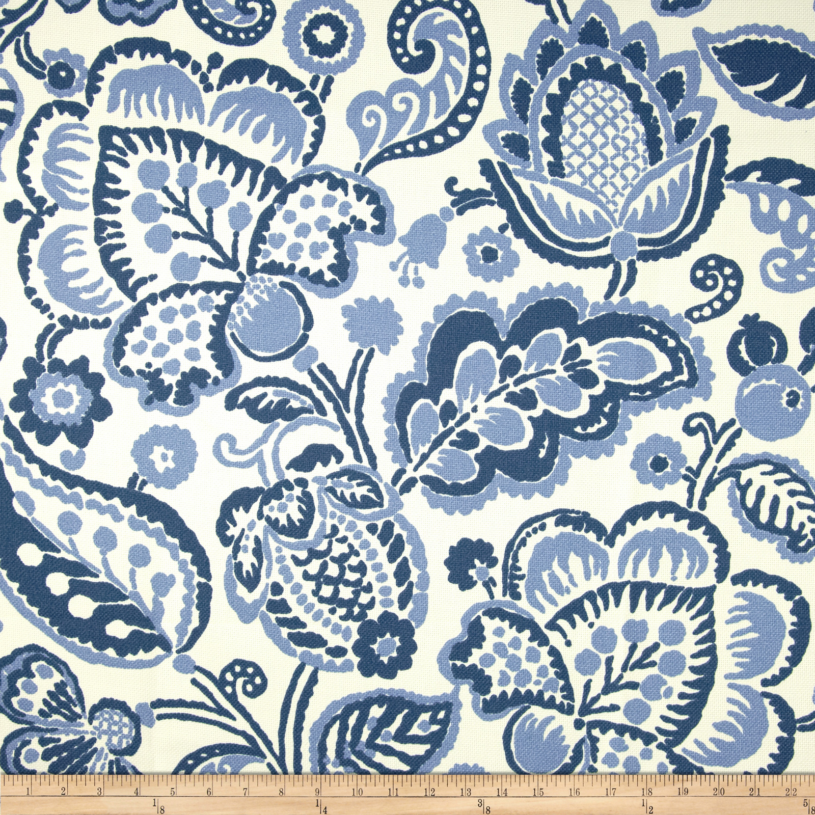 P Kaufmann Indoor/Outdoor Rava Periwinkle Fabric