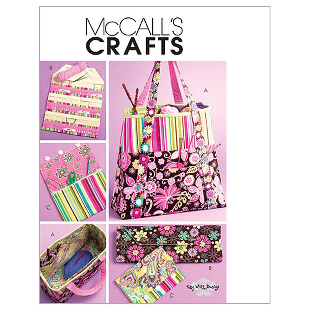 McCall's Satchel, Circular Knitting Needle Organizer and Pouch