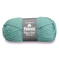 Patons Classic Wool Bulky Yarn (89201) Geyser Blue