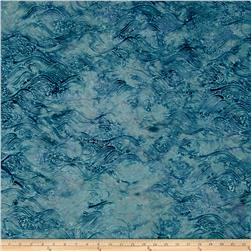 Bali Batiks Handpaints Waves Seafoam