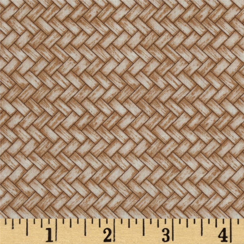 Cream Of The Crop Basket Weave Cream