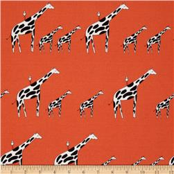 Zaza Zoo Giraffe Stripe Orange