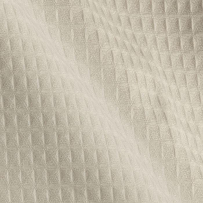 45'' Waffle Cloth White Fabric By The Yard