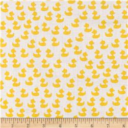 Baby Talk Floating Ducks White/Yellow