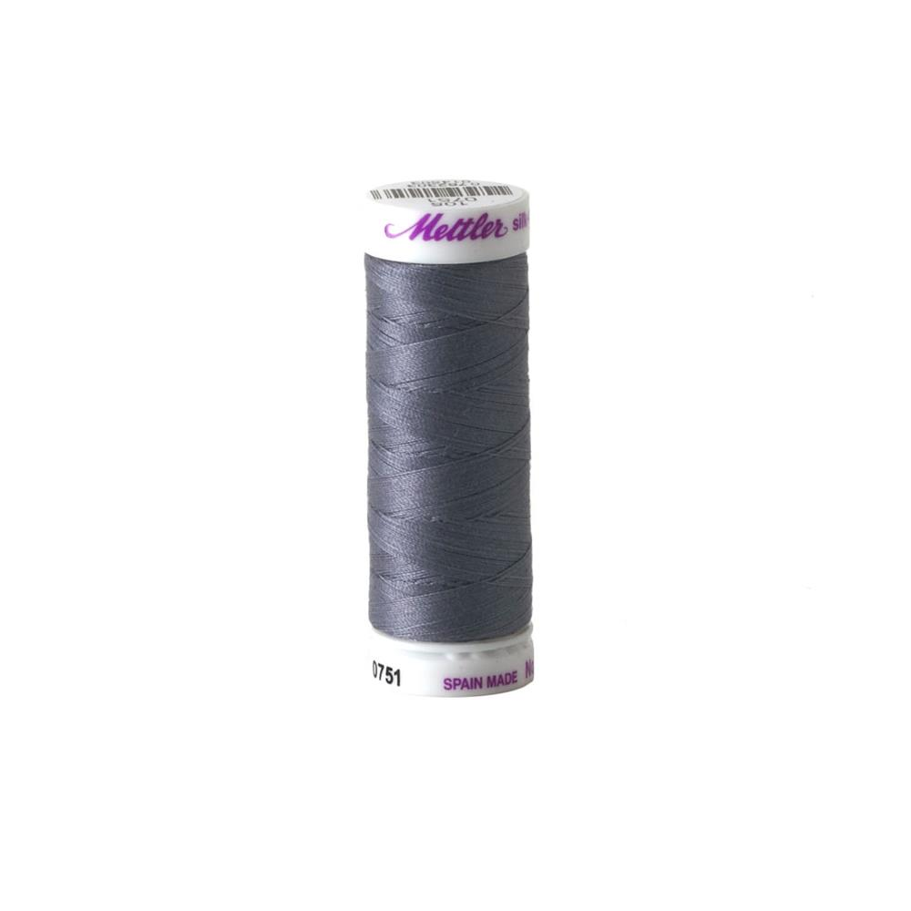 Mettler Cotton All Purpose Thread 3-ply 50wt 164YDS Flanell Grey