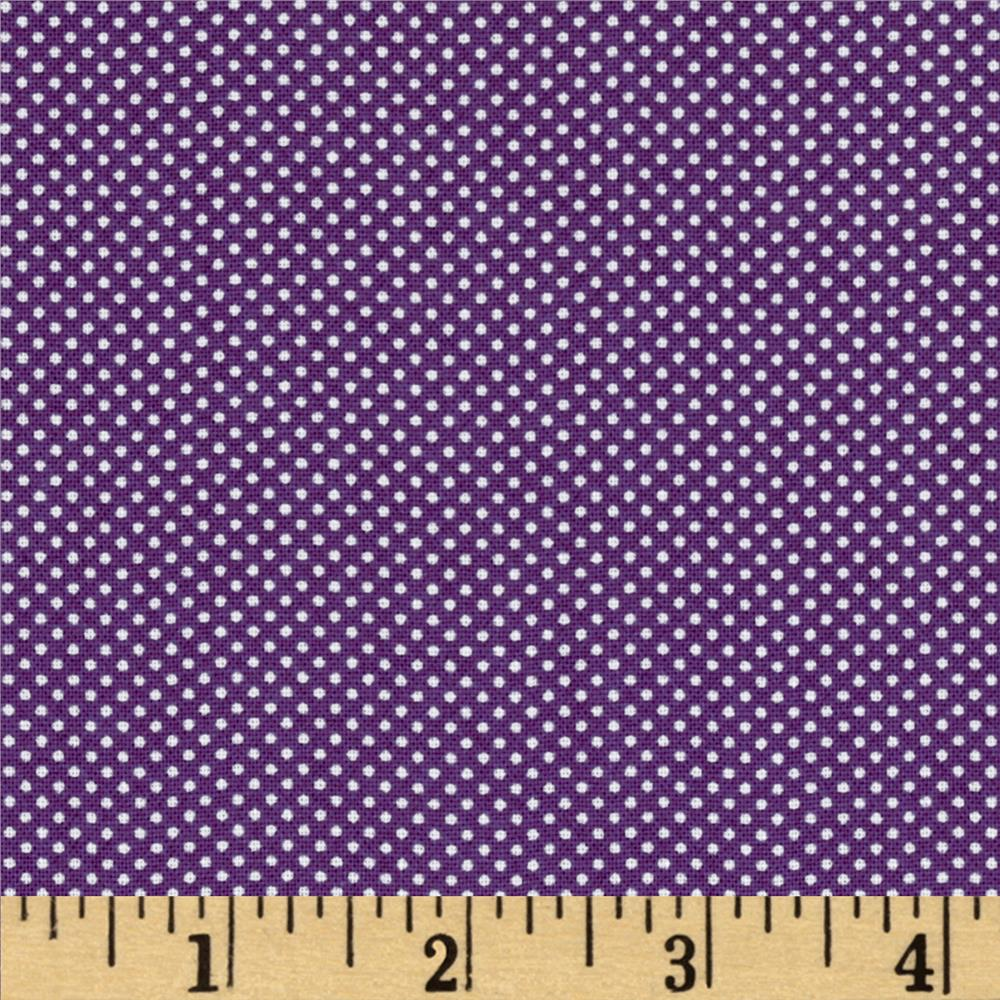 Moda Dottie Tiny Dots Purple