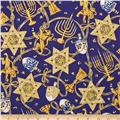 Lion of Judah Metallic Navy