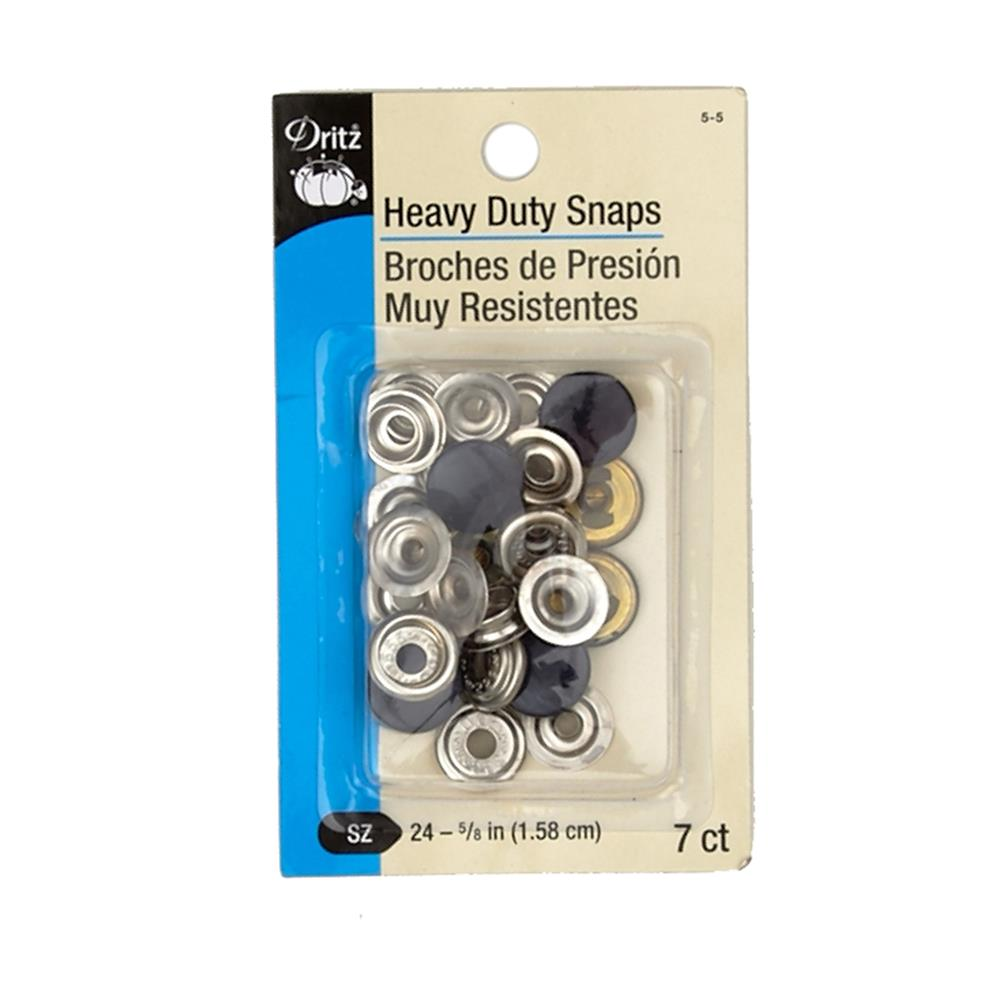 "Dritz Heavy Duty Snaps 5/8"" Navy"