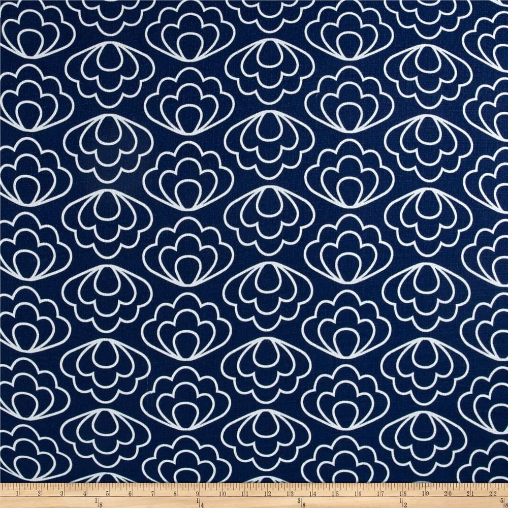Cloud 9 Organic Time Warp Ripple Navy