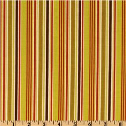 Indian Summer Stripes Green