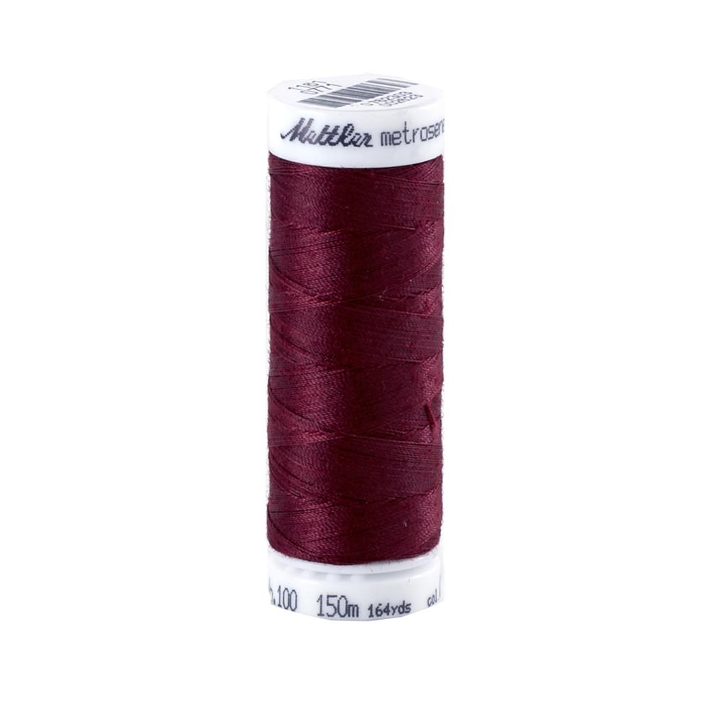 Mettler Metrosene Polyester All Purpose Thread Claret
