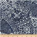 Timeless Treasures Tonga Batiks Breeze Patchwork Indigo