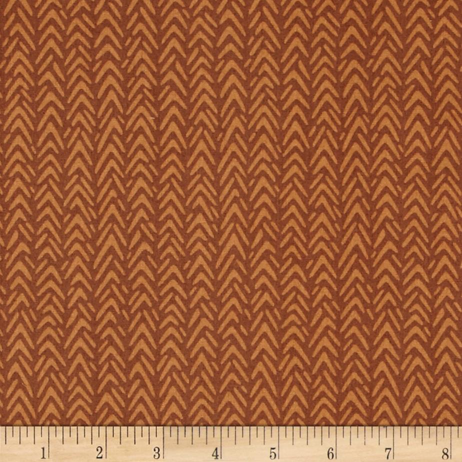 Heather Bailey Ginger Snap Herringbone Coco
