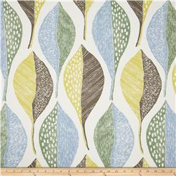 Robert Allen Indoor/Outdoor Baja Fronds Periwinkle Fabric