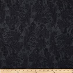 108'' Wide Essentials Quilt Backing Marrakesh Black Fabric