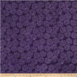Island Batik Mum Light Purple/Dark Purple
