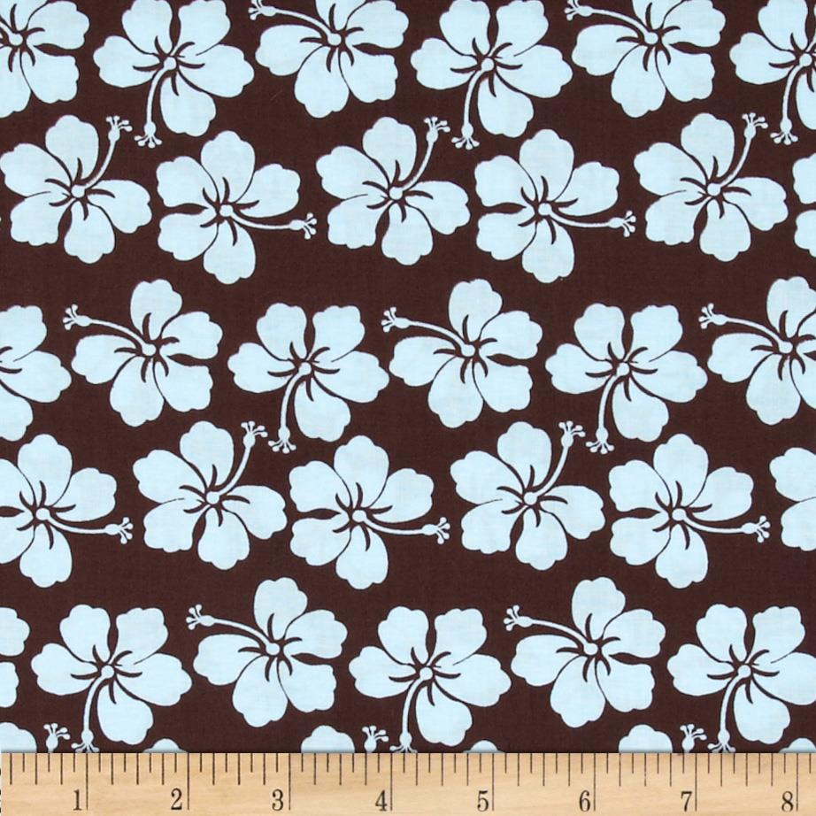 Little Surfer Boy Flowers Medium Brown