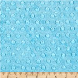 Michael Miller Minky Solid Dot Turquoise