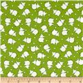 Penny Rose Toy Chest 2 Elephant Green