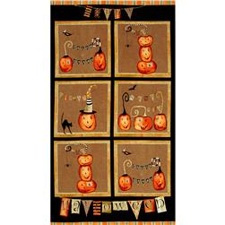 Cheeky Pumpkins 24 In. Pumpkin Panel