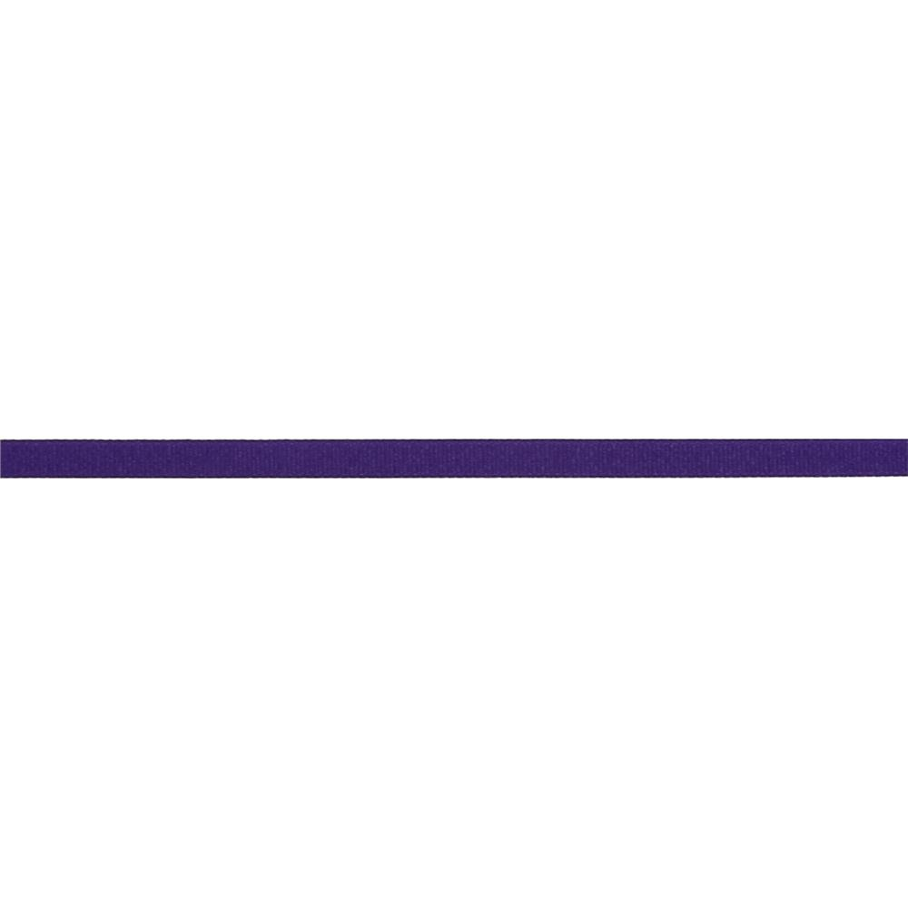 "3/8"" Grosgrain Solid Ribbon Purple"